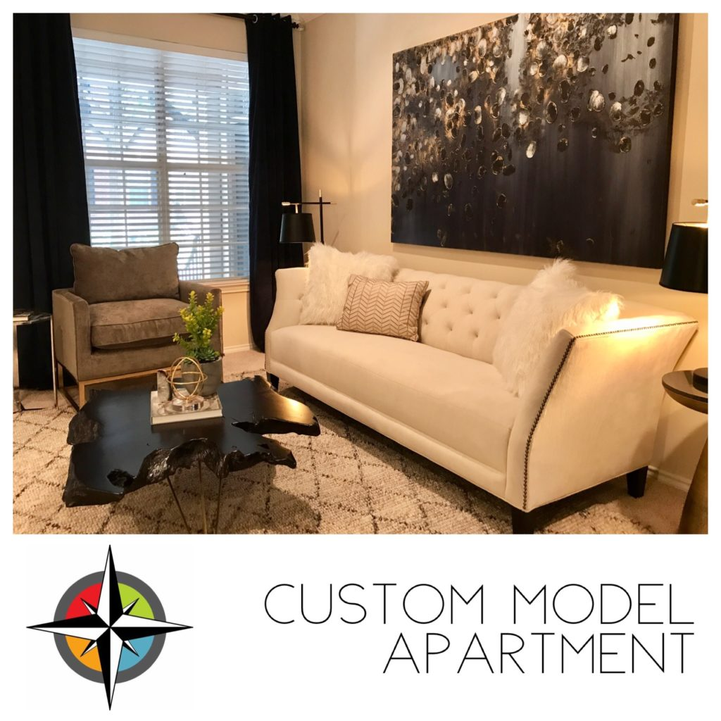 Custom Model Apartment In Dallas, TX